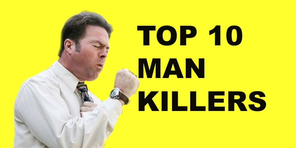 Top 10 Leading Causes of Death – Men's Health – Walk-In Lab