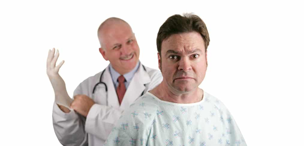 5 Health Conditions Men Lie About To Their Doctor