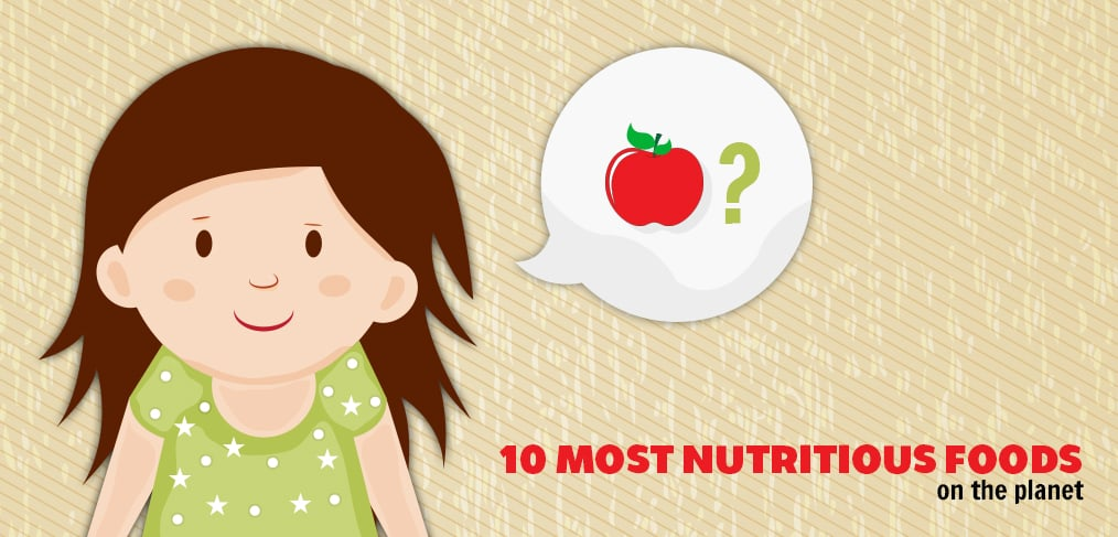 10 Most Nutritious Foods On The Planet