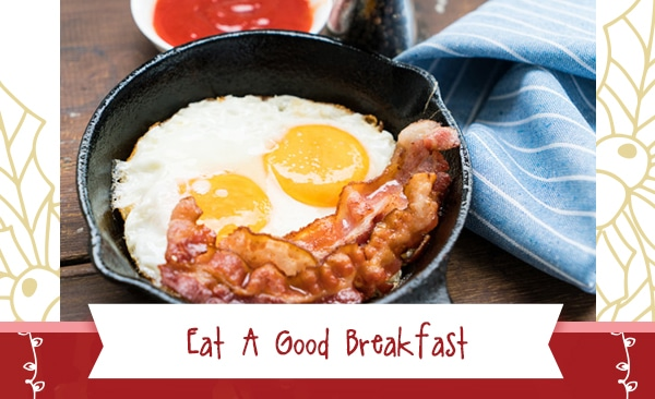 Healthy During The Holidays - Eat A Good Breakfast