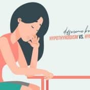 The differences between Hypothyroidism & Hyperthyroidism