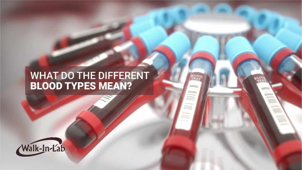 What Do The Different Blood Types Mean?