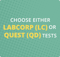 Choose Either Labcorp or Quest Tests