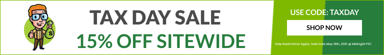 Tax Day Sales Banner